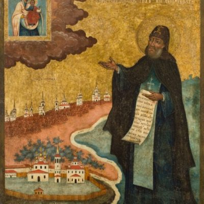 Феодосий Тотемский. Икона из собрания музея