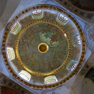 Роспись купола Воскресенского собора Спасо-Суморина монастыря