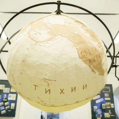 В экспозиции музея мореходов