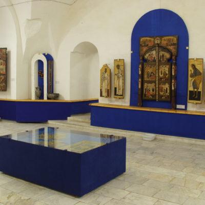 В помещениях музея