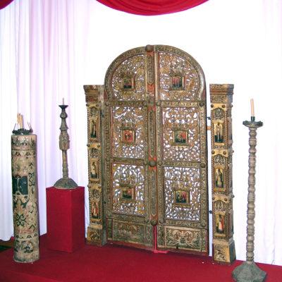 Царские врата в историческом отделе