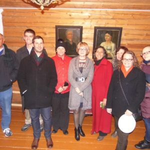 Гости из Соединенных Штатов Америки в доме-музее И.А.Кускова