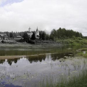 Троице-Сергиева церковь на Дедовом острове