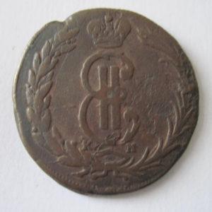 ТМО-4138. 2 копейки. 1771 г. Медь, чеканка