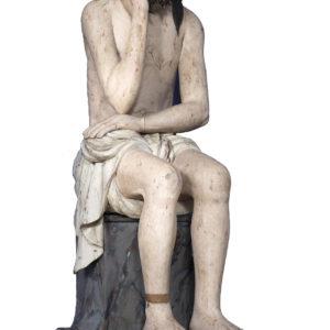 Христос в темнице. XVIII – XIX вв. Дерево, левкас, темпера; резьба, роспись