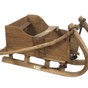 ТМО НВ 1090 Игрушка. Сани. Начало XX века. Дерево, столярная работа