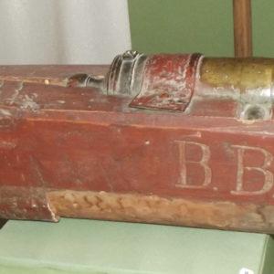 Пушка. 1750-1790 гг. Бронза, дерево, литье. ТМО 10918