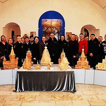Сотрудники полиции посетили музей церковной старины