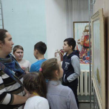 Посмертная выставка работ художника Георгия Попова «Признание» открылась в Тотьме