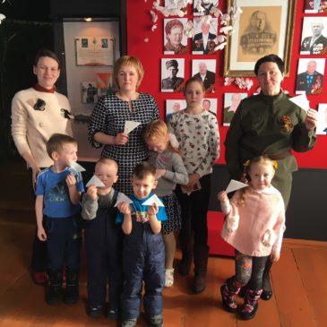 В краеведческом музее прошли мероприятия, посвященные Дню Защитника Отечества