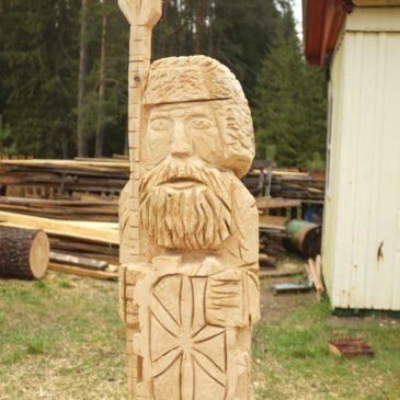 Тотьма приглашает на четвёртый фестиваль деревянной скульптуры «Оживающая история»