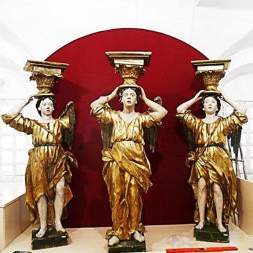 В Тотемском музейном объединении открывается новая экспозиция храмовой деревянной скульптуры