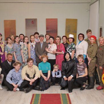 Традиционную музейную ночь в этом году сотрудники ТМО посвятили 50-летию Тотемского народного театра
