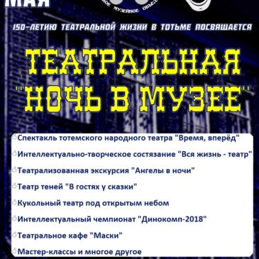 Ангелы в ночи, ретро-компьютеры и призрак коммунизма: в Тотьме состоится «театральная ночь в музее»