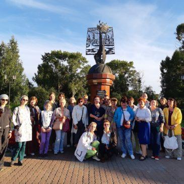 20-21 августа  Тотьму с дружественным визитом посетила группа коллег из Сергиева Посада.