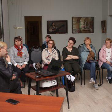 В Тотемском районе состоялась стажировка по проектной деятельности «Опыт места»