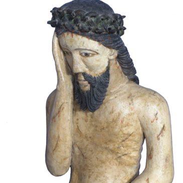 Тотемская деревянная скульптура представлена на выставке в Петербургском Манеже