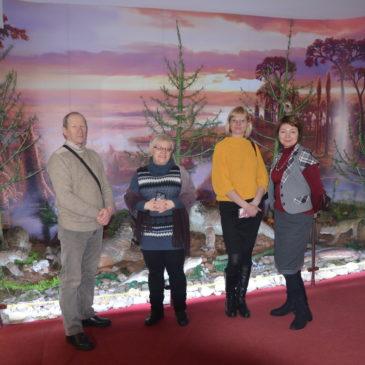 Сотрудники Тотемского музейного объединения побывали в гостях у Вятского палеонтологического музея.