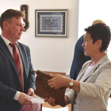 Музеи Тотьмы посетила руководитель программ фонда Тимченко Елена Коновалова