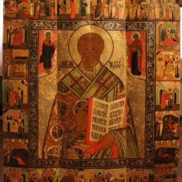 Тотемские иконы на выставке в Кирилло-Белозерском музее