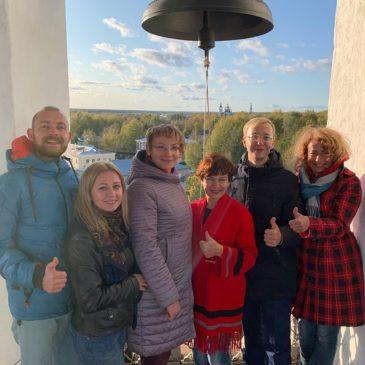 Стажировка в Тотьме: представители регионов России знакомятся опытом нашего города