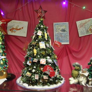 Необычные елки украсили отдел природы краеведческого музея