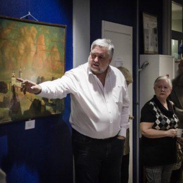 Картины Николая Сажина демонстрируются на выставке в Хельсинки, на очереди – Стокгольм