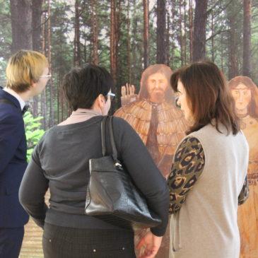 Рабочая поездка специалистов администрации и музея Тотемского района состоялась в Череповец