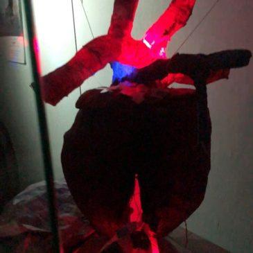 Молодежь Тотьмы открыла выставку современного искусства