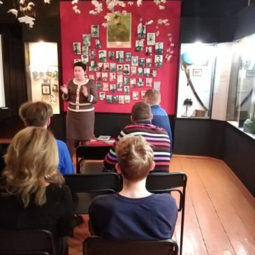 Ветераны-пограничники в музее
