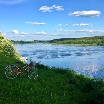 """Велопрокат """"Я буду долго гнать велосипед…"""" начал работу при музеях Тотьмы"""