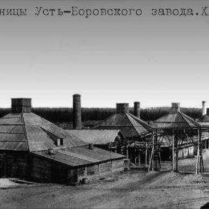 Белые варницы Усть-Боровского завода. ХХ в.