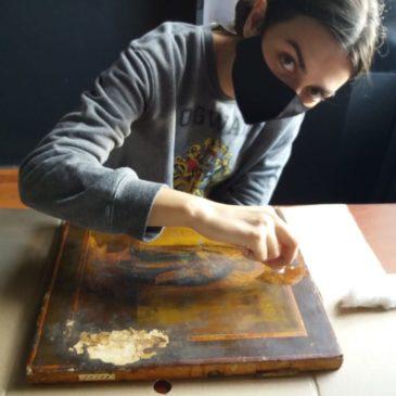 Молодые реставраторы – малым музеям!
