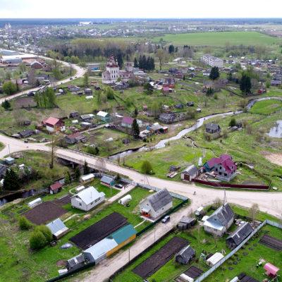 Панорама «Посада Соли Тотемской» (д. Варницы, Галицкая, Углицкая)