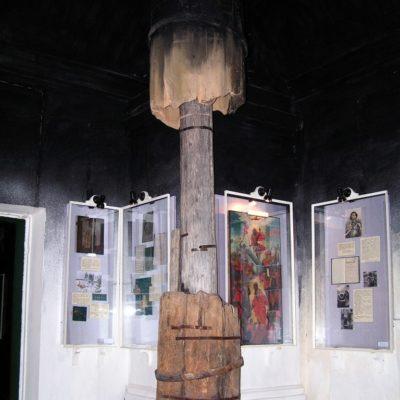 Труба в «соляном зале» краеведческого музея