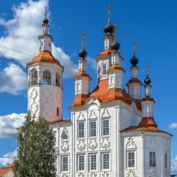 Тотьма вошла в список самых красивых городков России от портала SKYSCANNER